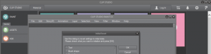 Clip Studio Paint Werkzeugleisten zurücksetzen