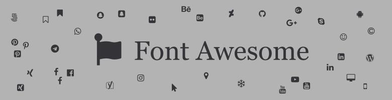 Mit Font Awesome Social Media Icons auf der Webseite einbinden