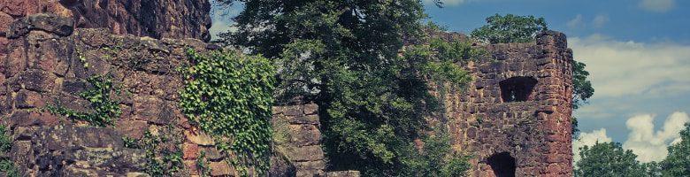Die Schlossruine Hohen Schramberg