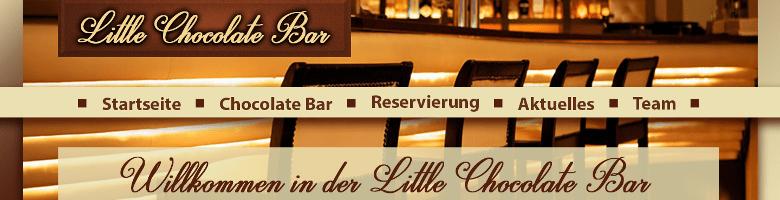 Webdesign: Little Chocolate Bar